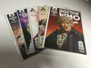 Doctor Who 1-5 Nm Near Mint Third Doctor Titan Comics