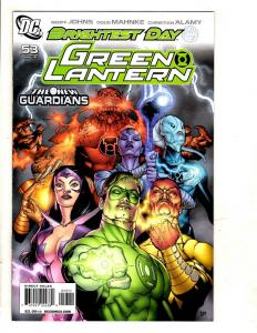 Lot Of 10 Green Lantern DC Comic Books # 53 54 55 56 57 58 59 60 61 62 CJ10