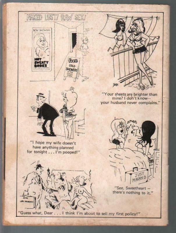 Best Cartoons 5/1972-Pussycat GGA comic strip-jokes-G/VG