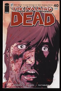 Walking Dead #40 NM 9.4