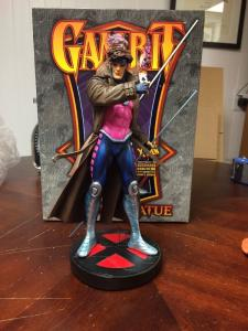 Gambit Statue Bowen X-men Full Size Mint 1590/2000 W/ Perfect Box