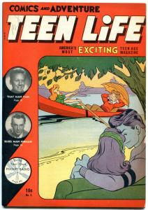 Teen Life #5 1946- Van Johnson- Woody Herman- Jackie Robinson VF-