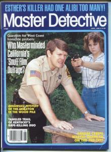 Master Detective Magazine June 1985-True Crime Lurid stories