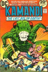 Kamandi: The Last Boy on Earth #12, VF (Stock photo)
