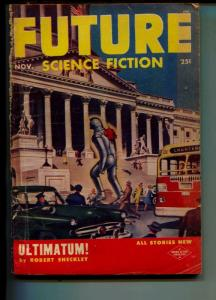 Future Science Fiction-Pulp-11/1953-Robert Sheckley-Gordon R. Dickson