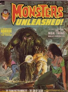 Monsters Unleashed #3 (ungraded) stock photo