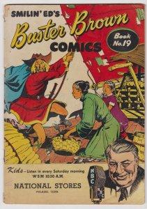 Buster Brown Comics #19 (1950) GD/VG Brown Shoe