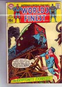 World's Finest #196 (Sep-70) FN Mid-Grade Superman, Batman, Robin