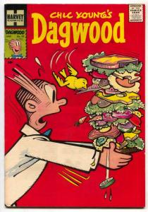 Dagwood #90 1958- Harvey comics- high grade VF+