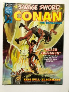 SAVAGE SWORD OF CONAN 2 VG+ October 1974 NAdams cvr, Buscema, Kane, Chaykin