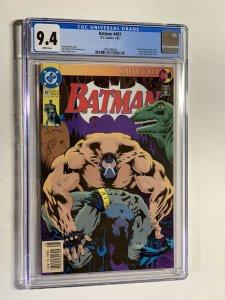 Batman 497 cgc 9.4 newsstand edition
