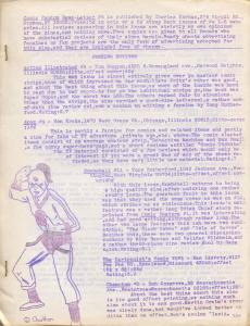 Comic Fandom News-Letter #6 1964-Charles Korbas-Blackhawk-Wonder Woman