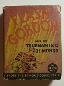 Flash Gordon & the Tournaments of Mongo 1935 Big Little Book BLB #1171 Whitman