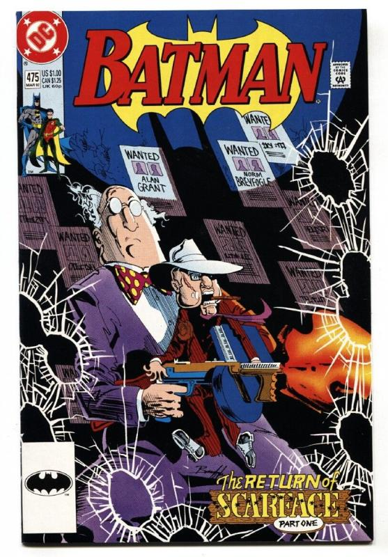 Batman #475 comic book 1992 DC 1st appearance of RENEE MONTOYA