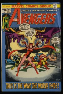 Avengers #104 GD+ 2.5 Marvel Comics Thor Captain America