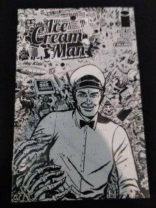 Ice Cream Man #14 Image Comics B&W SKETCH COVER VARIANT