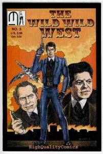 WILD WILD WEST #3, VF/NM, Secret Service, Lovelace, 1990, more indies in store