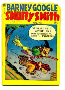 BARNEY GOOGLE AND SNUFFY SMITH #2 1951-FRED LASSWELL-G