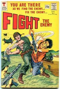 FIGHT THE ENEMY #1-IWO JIMA/NAZIS-1966 VF