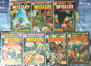 JOURNEY INTO MYSTERY (2nd series)1-10,12 Starlin! Kane!Ploog!Ditko!Kirby!Wildey!