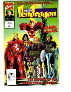 14 Knights Of Pendragon Marvel Comics # 1 2 3 4 5 6 (2) 7 8 9 10 11 12 13 CR38