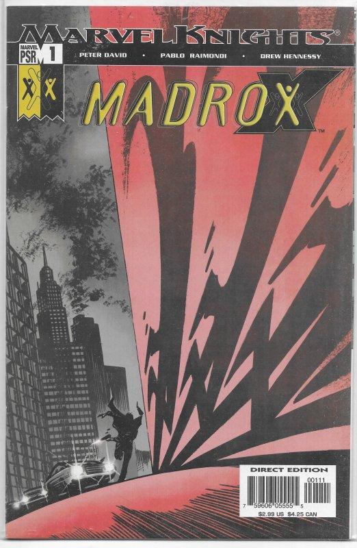 Madrox #1 of 5 VF/NM (2004) David/Raimondi, X-Factor spin-off