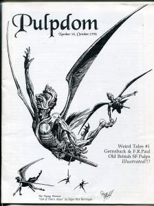 Pulpdom #14 1998-Werid Tales #1 reprint-pulp collector info-FN