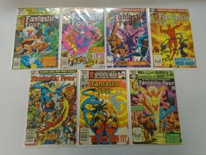 Bronze age Fantastic Four lot 13 different from #223-250 avg 4.0 VG (1980-83)