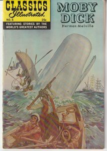 Classics illustrated # 5 Moby Dick