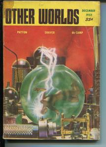 Other Worlds 11/1952 Clark Pub-sci-fi pulp-Smith Good Girl Art-Alan E Nourse-G+