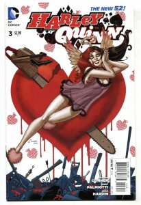 HARLEY QUINN #3 2014 GGA cover DC New 52-Suicide Squad-NM-