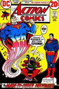 Action Comics #420 (ungraded) stock photo / ID#00E