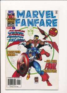 MARVEL FANFARE Captain American and The Falcon #1 Sept '96 VF/NM (SIC307)