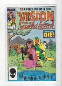 Vision and the Scarlet Witch (1985 series) 3 of 12  VF/NM Marvel Comics