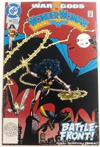 Wonder Woman #59 (1991) Batman! 1¢ Auction! No Resv! See More!!!