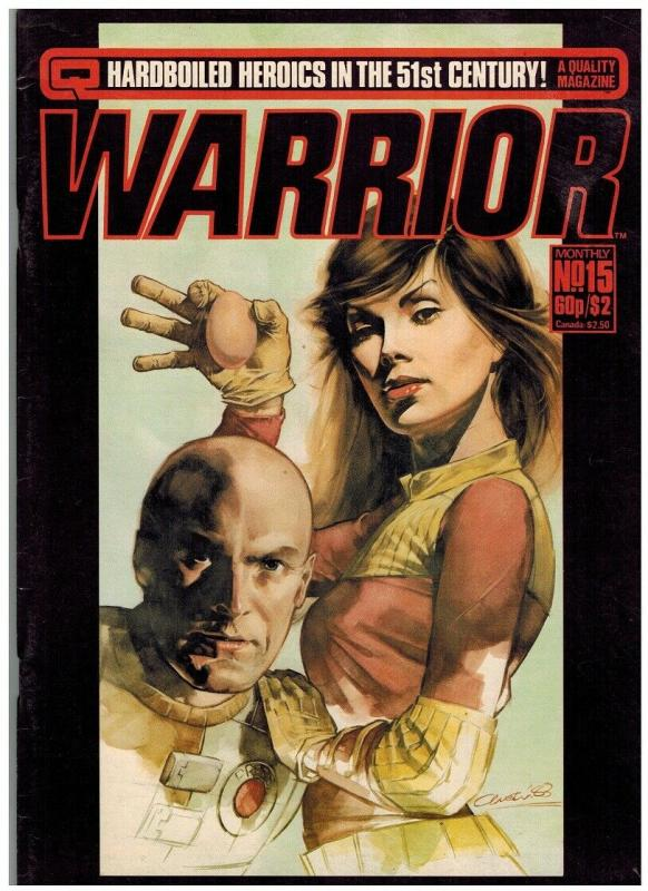 WARRIOR (1982 QUALITY) 15 VG-F ALAN MOORE+++++
