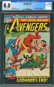 Avengers #97 (Marvel, 1972) CGC 8.0