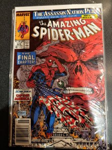 ​Amazing spiderman #325 RED SKULL Silver sable Captain America VF/NM