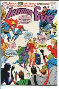 INFERIOR FIVE #6 198-DC COMICS-BATMAN-SUPERMAN-ATOM-FLASH-DC STAFF-nm