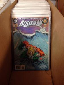 Aquaman 1986-2003 Near Mint Lot 1-4,1-5,1-13,1-4,0-75 Plus Extras