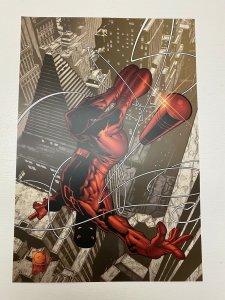 Daredevil 1 Marvel Comics poster by Joe Quesada and Jimmy Palmiotti