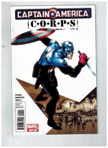 Captain America Corps # 1 Of 5 VF Marvel Limited Series Comic Book Avengers S75