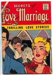 Secrets of Love & Marriage #9 1958- Charlton Romance- Vince Colletta