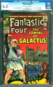Fantastic Four #48 CGC Graded 6.5 1st appearance of Silver Surfer and Galactu...