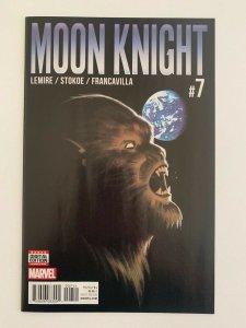 Moon Knight #7 (Marvel Comics 2016) NM