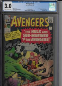 The Avengers #3 (1964)