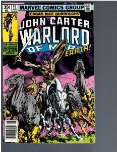 John Carter Warlord of Mars #15 (1978)