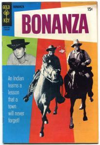 BONANZA #35 1970-TV PHOTO COVER-GOLD KEY-MIKE LANDON G