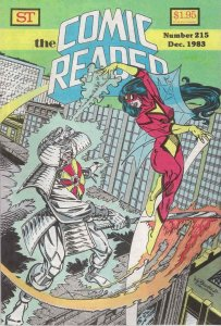 Comic Reader, The #215 FN; Street Enterprises | save on shipping - details insid