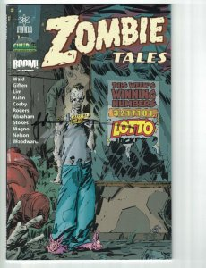 Zombie Tales #1 FN chud.com exclusive cover by Keith Giffen - Boom - signed